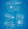 Seth Lover Gibson Humbucker Pickup 2 Patent Art 1959 Blueprint by Ian Monk
