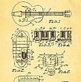 Seth Lover Gibson Humbucker Pickup Patent Art 1959 by Ian Monk