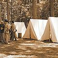 Settin Up Camp by Nadine Lewis