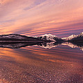 Setting On Glacier by Aaron Aldrich