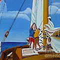 Setting Sail by Anthony Dunphy