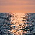 Setting Sun At Sea by Loretta Jean Photography