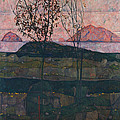 Setting Sun by Egon Schiele