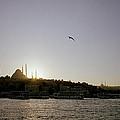 Setting Sun Over Istanbul by Shaun Higson