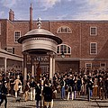 Settling Day At Tattersalls, Print Made by James Pollard