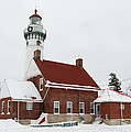 Seul Choix Point Lighthouse by Michael Peychich