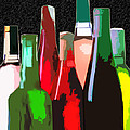 Seven Bottles Of Wine On The Wall by Elaine Plesser