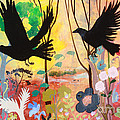 Seven Circling Crows by Robin Maria Pedrero