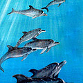 Seven Dolphins by Mackenzie Moulton