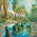 Seven Palms Oasis by Susan Schiffer