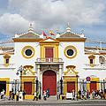 Seville Bullring In Spain by Artur Bogacki