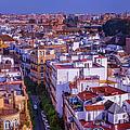 Seville Cityscape by Joan Carroll