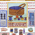 Sewing by Julia Rowntree