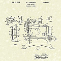 Sewing Machine 1936 Patent Art by Prior Art Design