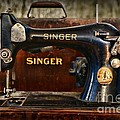 Sewing Machine By Singer by Paul Ward