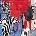 Sexy Zebra by David Resnikoff