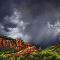 Thunderstorm In Sedona by Artist ForYou