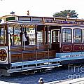 Sf Cable Car by Rod Jones