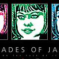Shades Of Jade Poster by David Davies