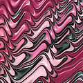 Shades Of Pink And Red Decorative Design by Matthias Hauser