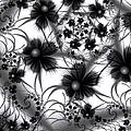 Shadow Flowers by Kiki Art