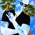 Shadow Man Palm Springs by William Dey