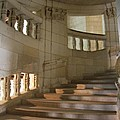 Shadows On Chateau Chambord Stairs by Christiane Schulze Art And Photography