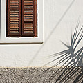 Shadows On Old House. by Jan Brons