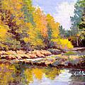 Shadowy Creek by Keith Burgess
