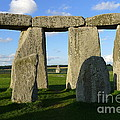 Shadowy Stonehenge by Denise Mazzocco