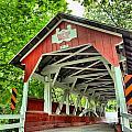 Shafer Covered Bridge by Adam Jewell