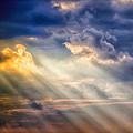 Shaft Of Light by Garry Gay