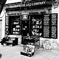 Shakespeare And Company Boookstore In Paris France by Richard Rosenshein