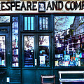 Shakespeare And Company Paris France by Evie Carrier