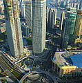 Shanghai From Above by John Shaw