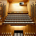 Shanghai Organ Console by Jenny Setchell