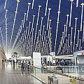 Shanghai Pudong Airport In China by Jacek Malipan