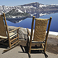 Share A Moment At Crater Lake Oregon by Clay and Gill Ross
