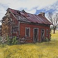 Sharecroppers Shack by Peter Muzyka