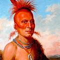 Sharitarish. Wicked Chief. Pawnee by Charles Bird King