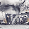 Sharknado Detroit by Nicholas  Grunas