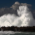 Sharks Cove Crashing Wave by Richard Cheski