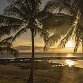 Sharks Cove Sunset 2 - Oahu Hawaii by Brian Harig