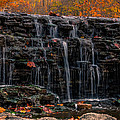 Sharon Woods Waterfall by Cathy Donohoue