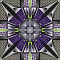 Sharp Tile Art D by James Sharp