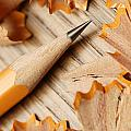 Sharpened Pencil by Don Hammond