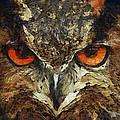 Sharpie Owl by Ayse Deniz