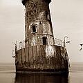 Sharps Island Lighthouse by Skip Willits