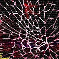 Shattered Windshield H A by Gert J Rheeders
