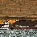 Shaver Tug On The Columbia River by Robert Bales